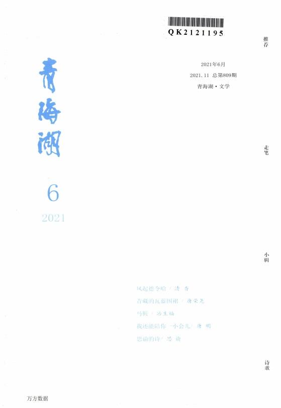 青海湖文学月刊